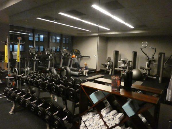 Kimpton Palomar San Diego gym