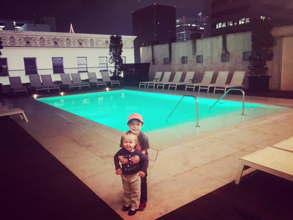Kimpton Palomar San Diego rooftop swimming pool