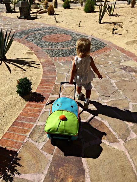Sandos Finisterra SkipHop best travel suitcase for kids