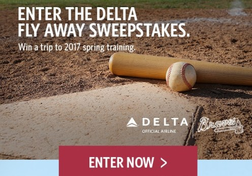Delta Airlines Atlanta Braves 2017 Spring Training