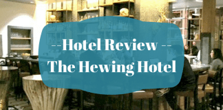 The Hewing Hotel review