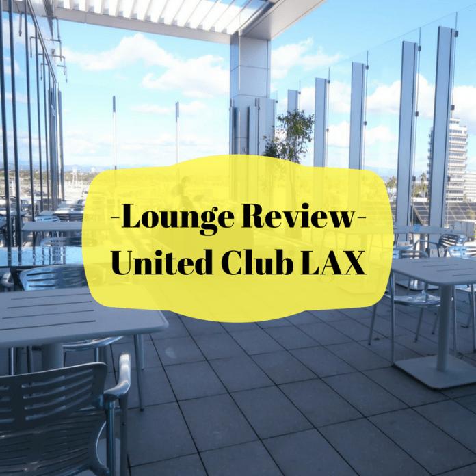 United Club LAX Review