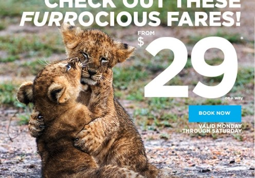 Frontier Airlines Fare Sale March 2017