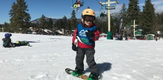 Learn How to Snowboard at Snow Summit on the slopes1