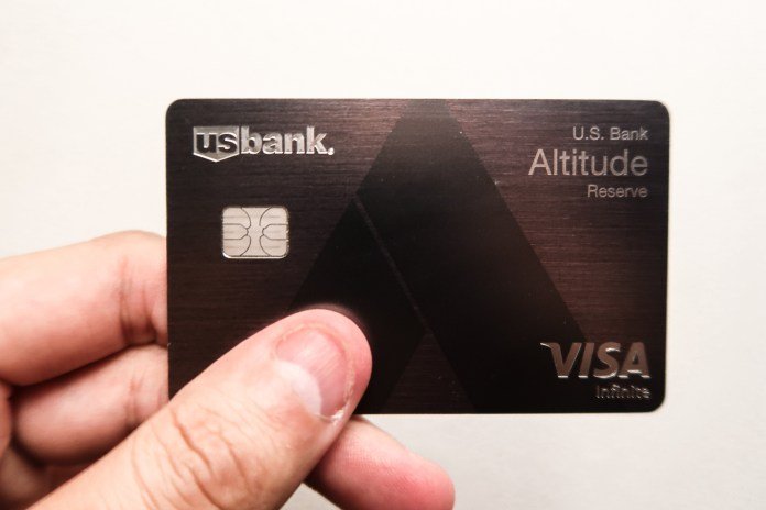US bank altitude reserve infinite Review