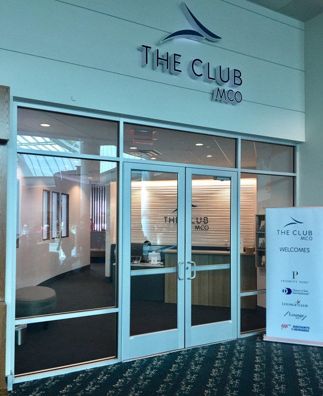 The Club at MCO, a Priority Pass Lounge Review