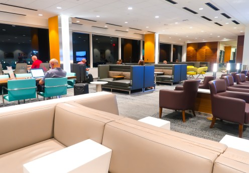 Delta Sky Lounge LAX Interior