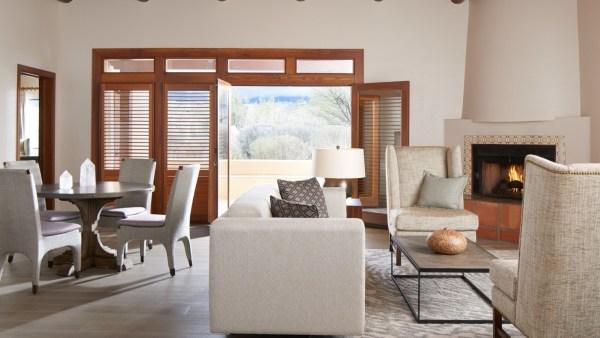 Hyatt Miraval Resort Desert Sky Suite living room