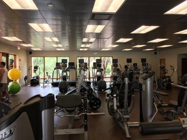 Hyatt Miraval Resort gym
