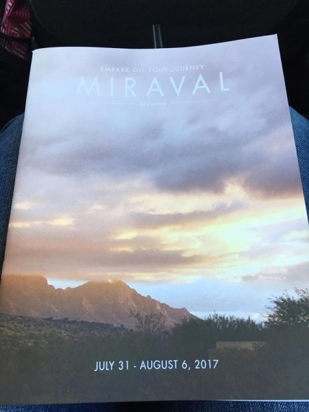 Hyatt Miraval Resort welcome package