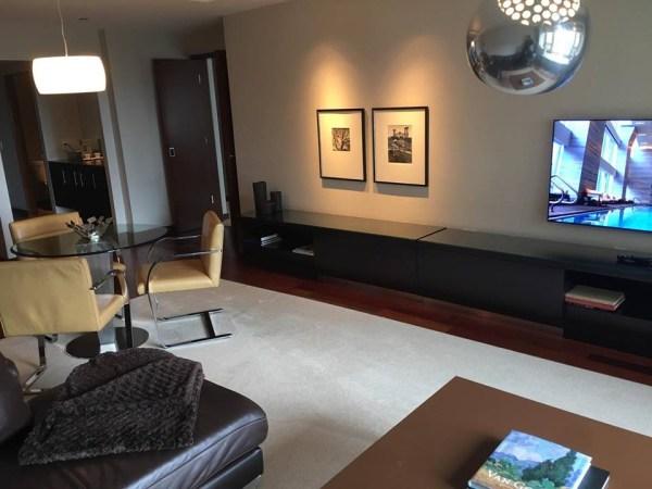 Park Hyatt Chicago suite upgrade dining room