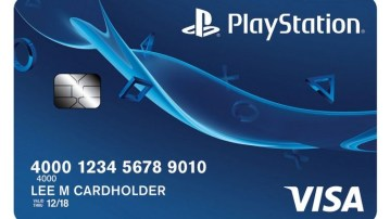 Playstation credit card