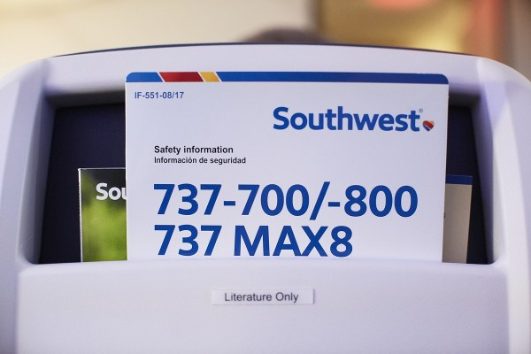 Southwest will fly to Hawaii in 2018. Southwest 737 MAX 171001 MAX Inaugural_008-1200x800