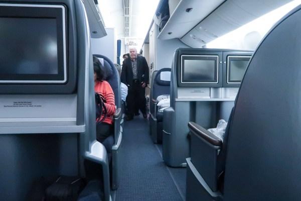 United Airlines Polaris 777-200 seats