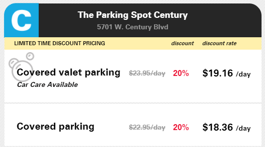 How to Save Money on Airport Parking The Parking Spot Century parking options
