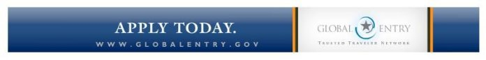 Global Entry Apply Today