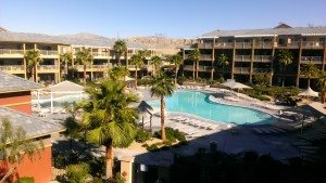 Worldmark Indio pool view