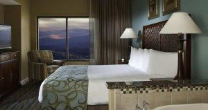 Hilton Grand Vacations Suites on the Las Vegas Strip bedroom