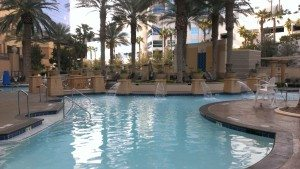 Hilton Grand Vacations Suites on the Las Vegas Strip pool
