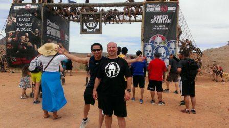 Spartan Super 2013-04 Las Vegas - Me and Vinh