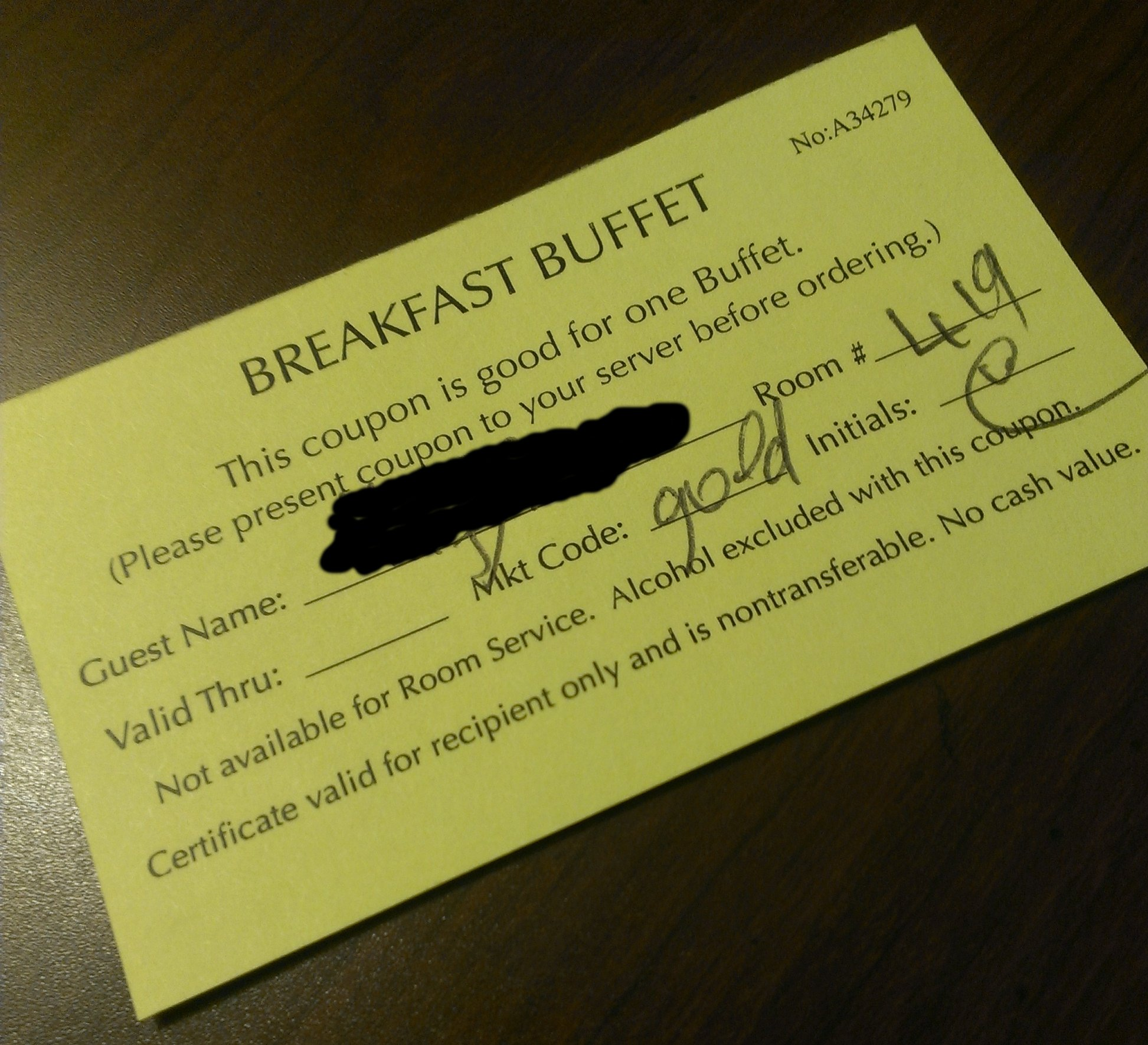 Hilton hhonors breakfast coupons