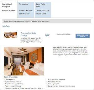Hyatt Ziva Los Cabos Junior Suite room description
