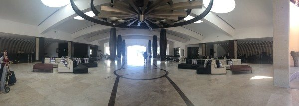 Hyatt Ziva Los Cabos lobby