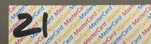 Credit card date
