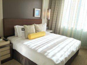 Kimpton Hotel Wilshire Santa Monica suite bedroom