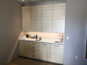 Kimpton Hotel Wilshire Santa Monica suite wet bar