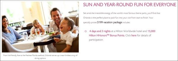 Hilton Grand Vacations Club Orlando promotion