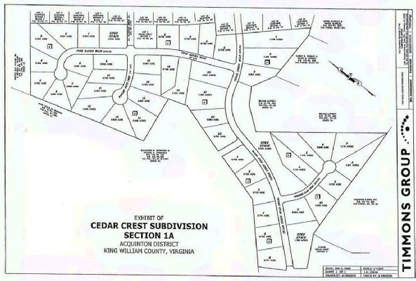 Cedar Crest: A community in King William, Virginia