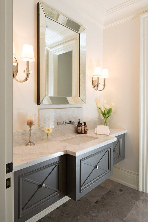 bathroom renovation floating vanities