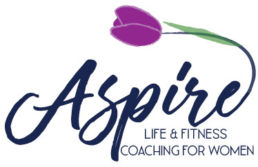 Website for Life and Fitness Coach, Aspire Coaching, Website, Branding