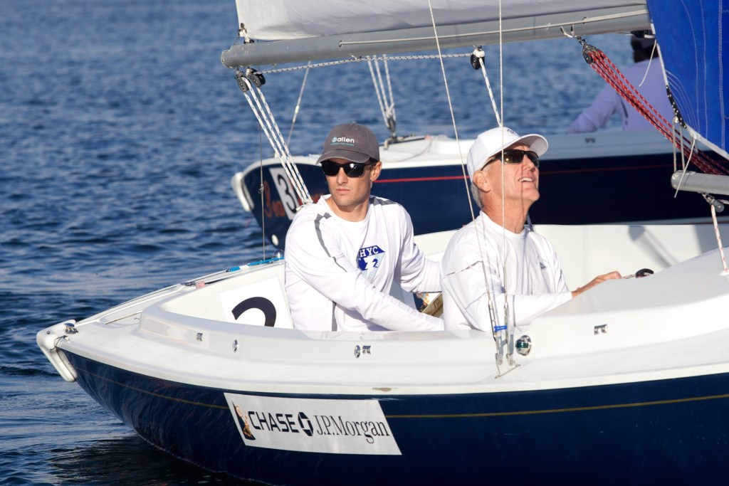 Photo by Craig Davis Team Thunder members: Skipper Justin Law, and crew Jeff Gordan
