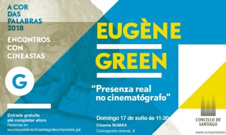 Encontro con Eugène Green no cinema Numax