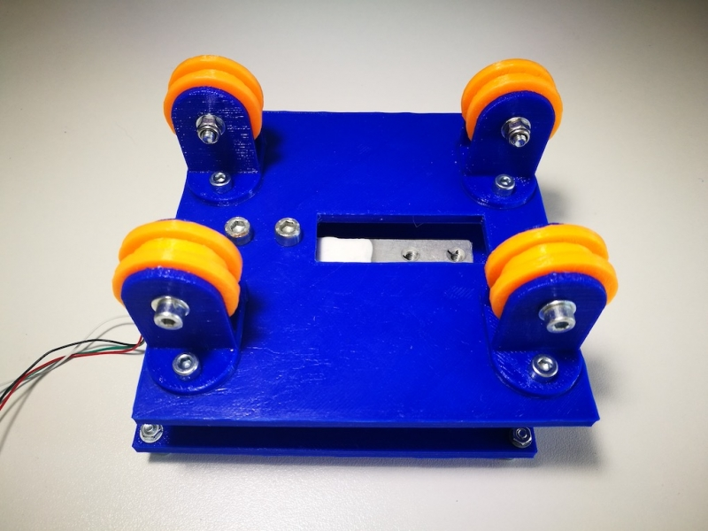 The making of 3D Printer filament dynamics monitor