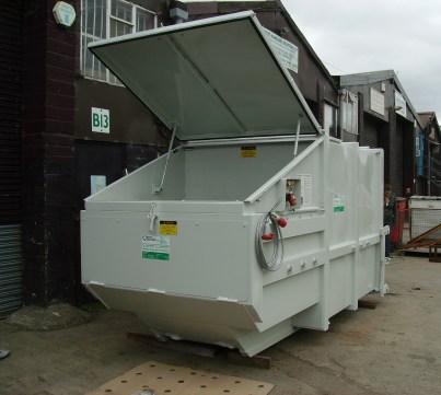 Skip-Lift Compactor - Manual Loading
