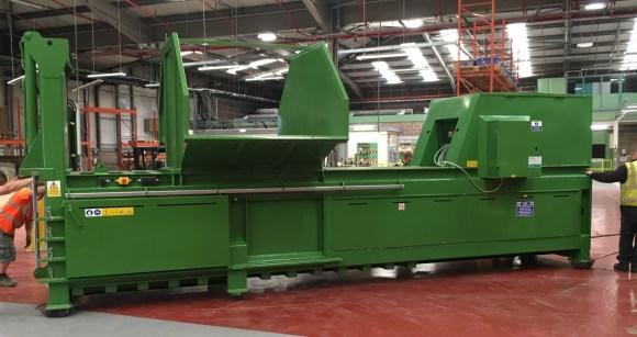 WHS 650HDE Semi Automatic Baler
