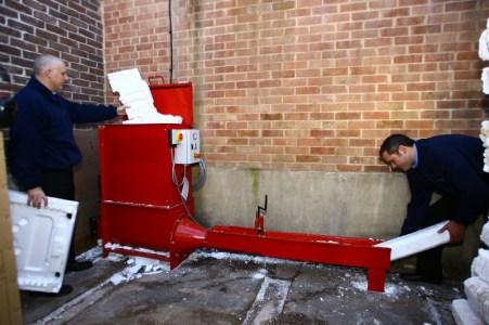 Screw Compactor - Manual Loading