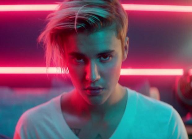 Justin no player da academia já! (Foto: Reprodução)