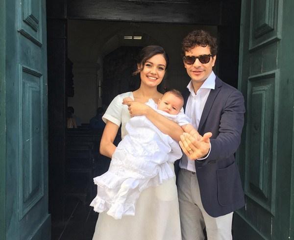 Sophie Charlote, Daniel de Oliveira e o filho (Foto: Reprodução/Instagram)