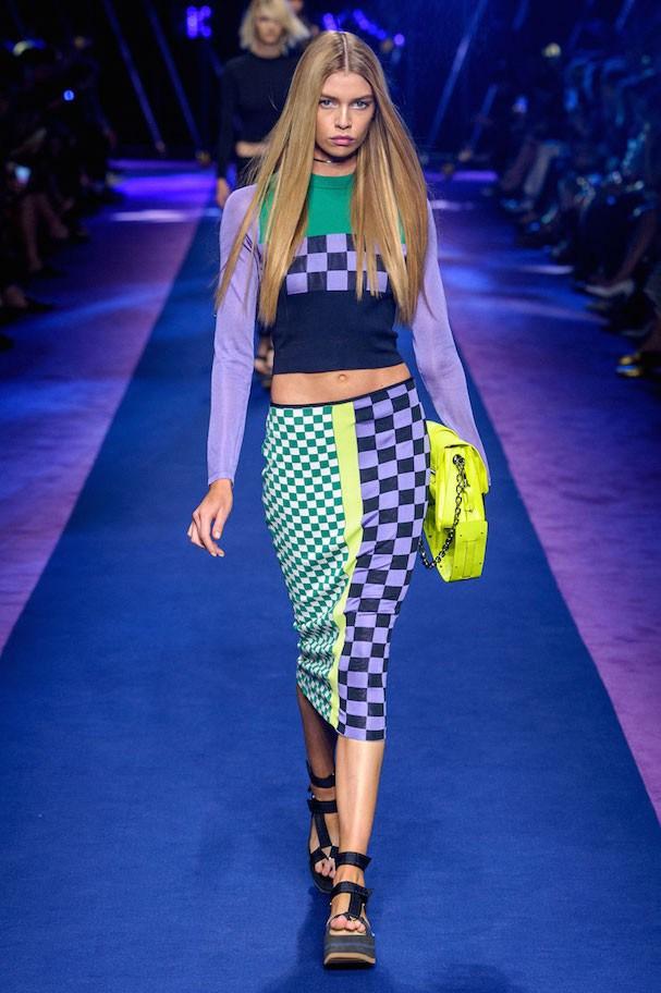Versace Primavera/Verão 2017 (Foto: Imaxtree)