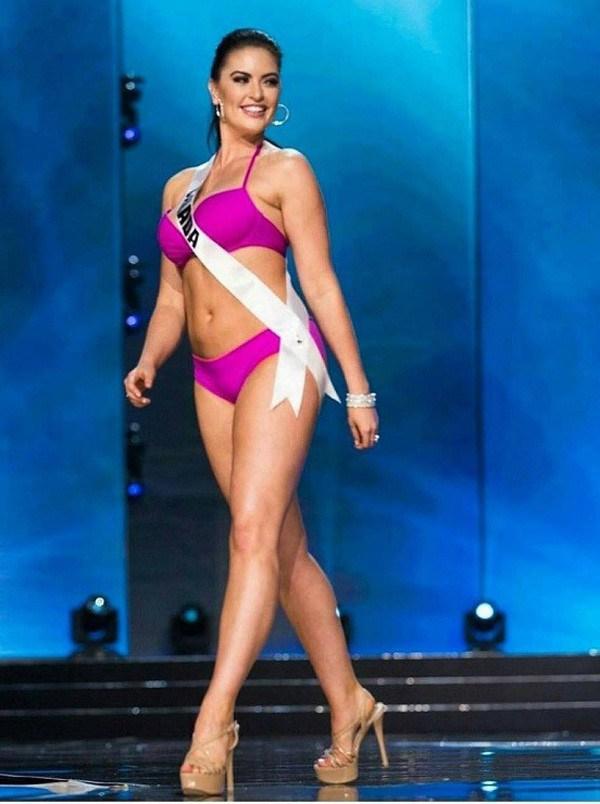 A Miss Canadá Siera Bearchell (Foto: Reprodução/Instagram)