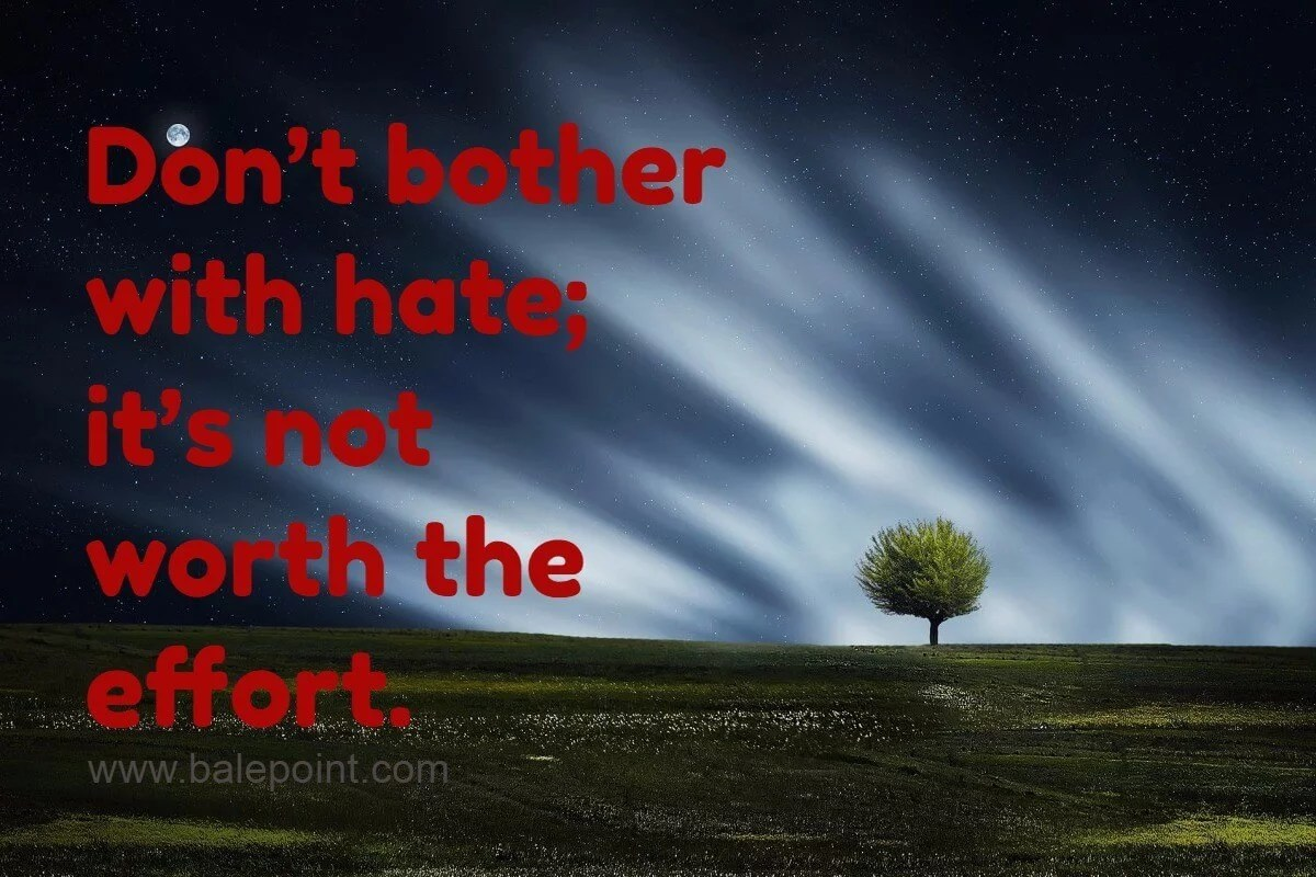 Tentang Kebencian