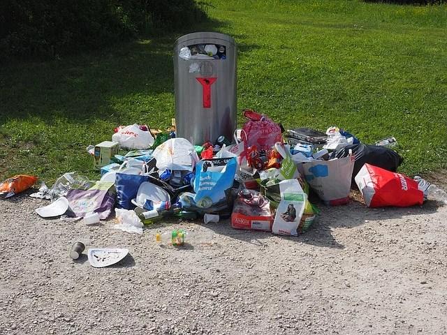 Buang Sampah Sembarangan