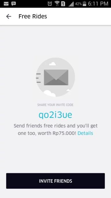 Promo Code Uber