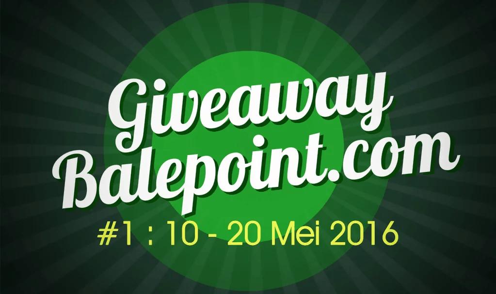 Pengumuman Pemenang Giveaway Pertama Balepoint.com Mei 2016