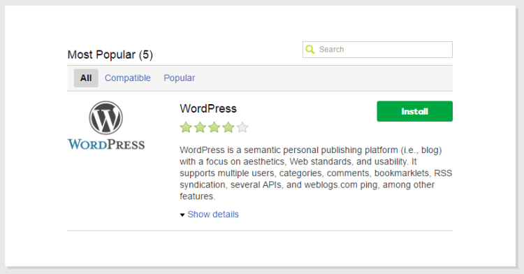 Install WordPress di GoDaddy