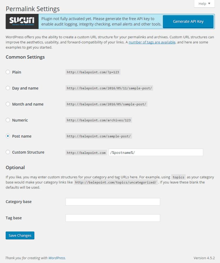 Cara Setting Permalink di WordPress
